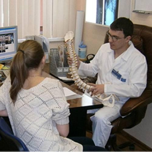 Центр лечения сколиоза на каховке